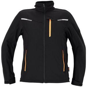 Amer softshellová bunda černá XL