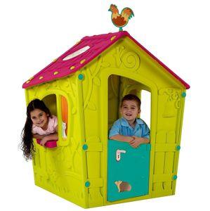 Dětský Dům Magic Playhouse Zeleno-Růžové 17185442
