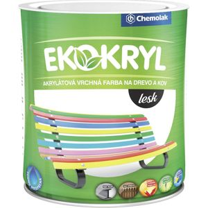 Ekokryl Lesk 0260 0,6l Hnedy Tm.