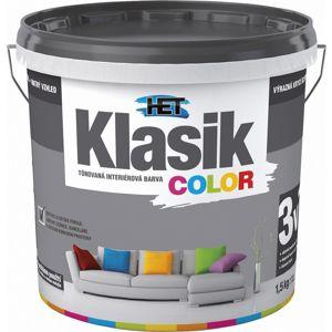 Het Klasik Color 0167 šedý betonový 1,5kg