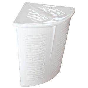 Koš na prádlo 45L 1402 bílá