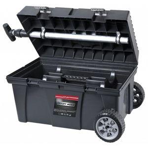 Kufr na nářadí s kolečky stuff alu basic 26