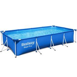 Obdélníkový bazén s kostrukcí 4x2.11x0.81m 56405