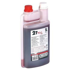 Olej 2t 011-1140, 1l s odměrkou - červený