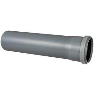Šedé potrubí ø75 x 315