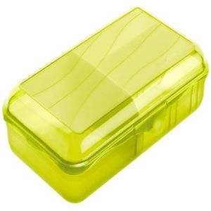 Snídaňový boxy s přihrádkami 1,7 l zelené