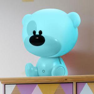 Stolní lampa MYŠ Bibi LED 309891 LB1 modrý