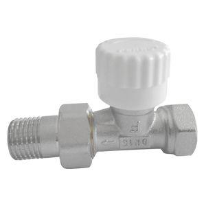 Termostatický ventil průběžný 1/2˝ rovný