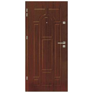 Vnitřní vchodové dveře Impero 80L ořech HZ+K