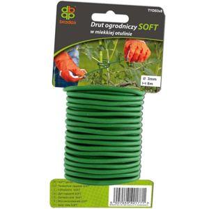 Zahradnický drát soft 3 mm x 8 m TYDS3X8