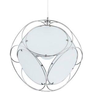 Závěsné svítidlo White Inside Chrom